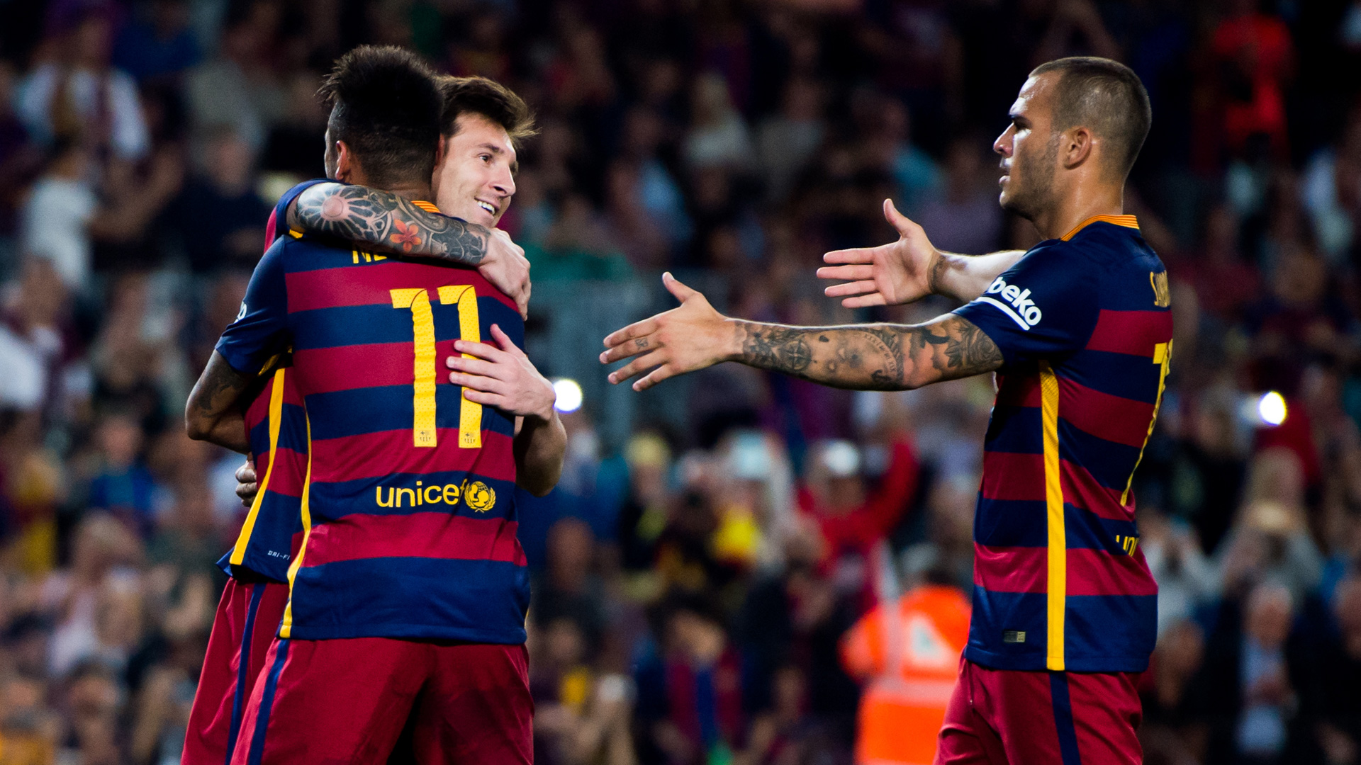 Sandro Ramirez FC Barcelona La Liga Messi Neymar