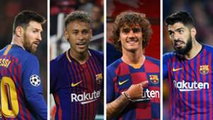 Messi Neymar Griezmann Suarez Barcelona