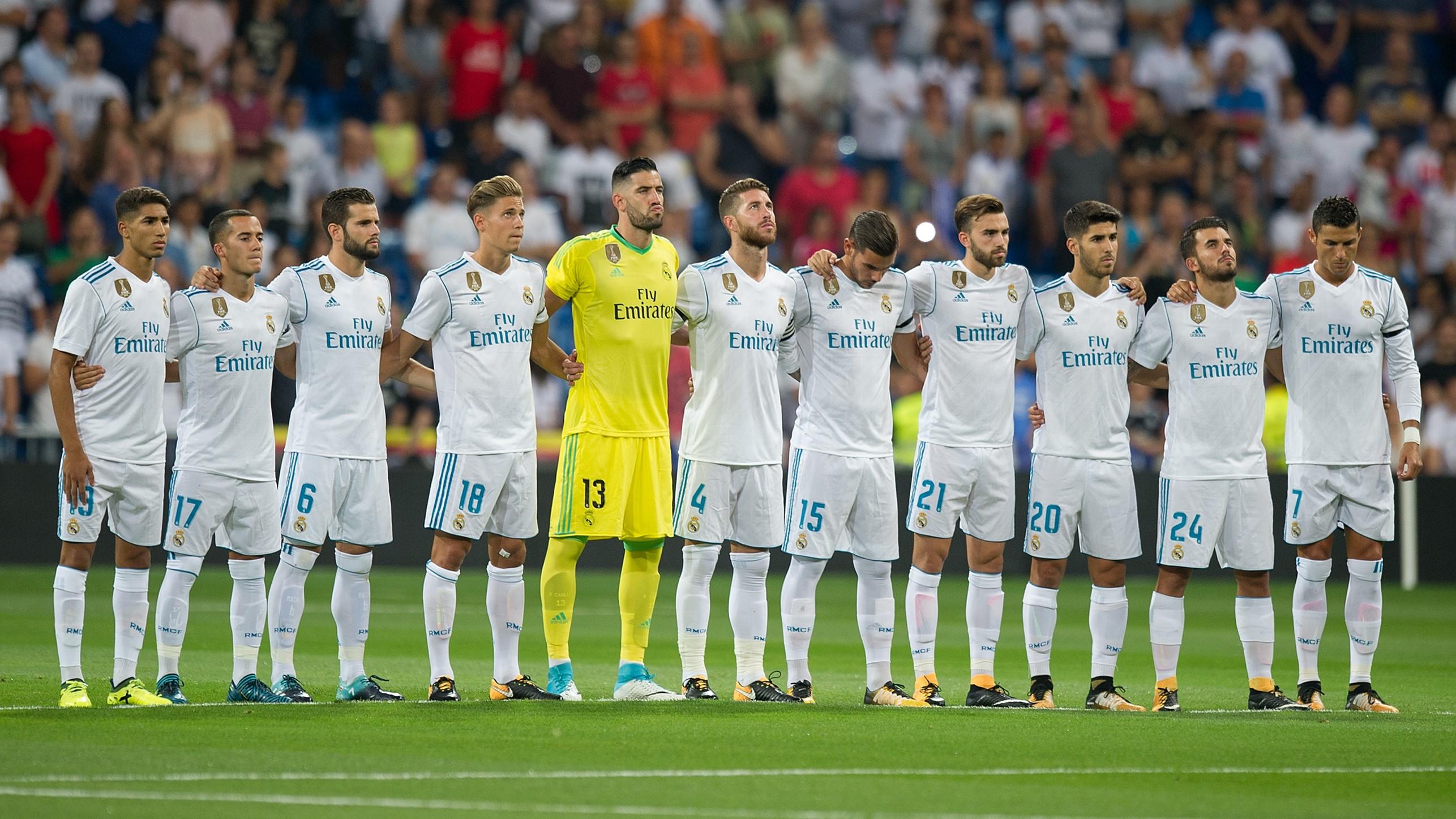 Real Madrid Trofeo Santiago Bernabeu 23082017