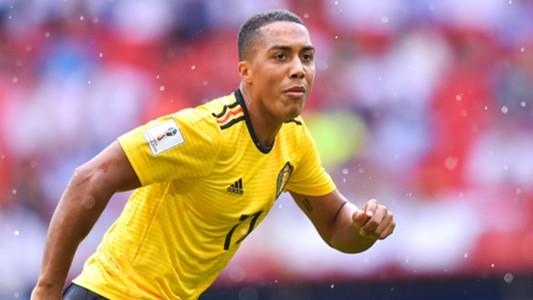 Youri Tielemans Belgium Tunisia World Cup