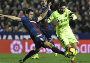 49. 16/12/2018 – Levante 0-5 Barcelona | La Liga Spanyol