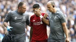 Roberto Firmino Liverpool Tottenham injury 150918