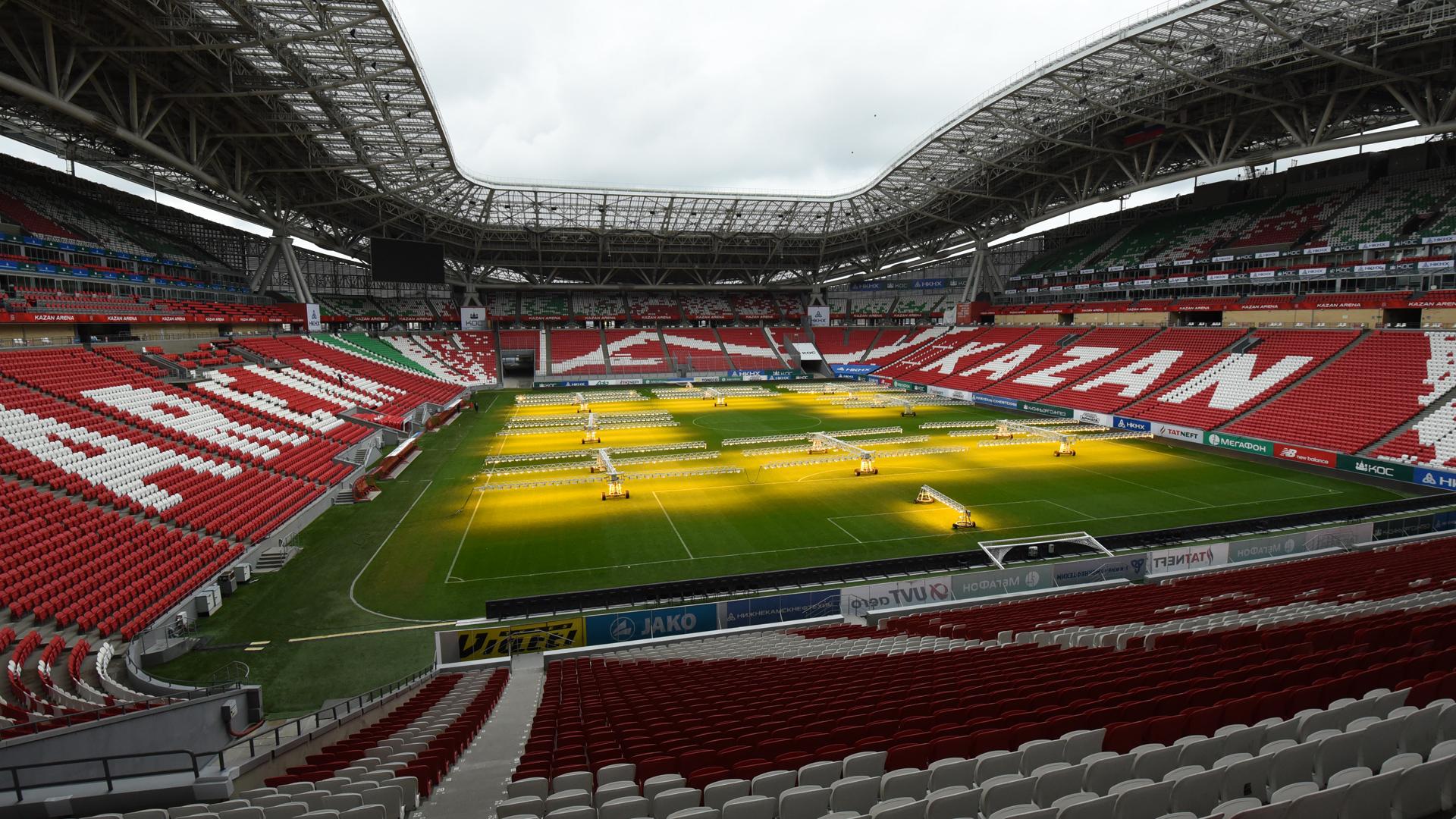 WM 2018 Russland Stadion Kazan