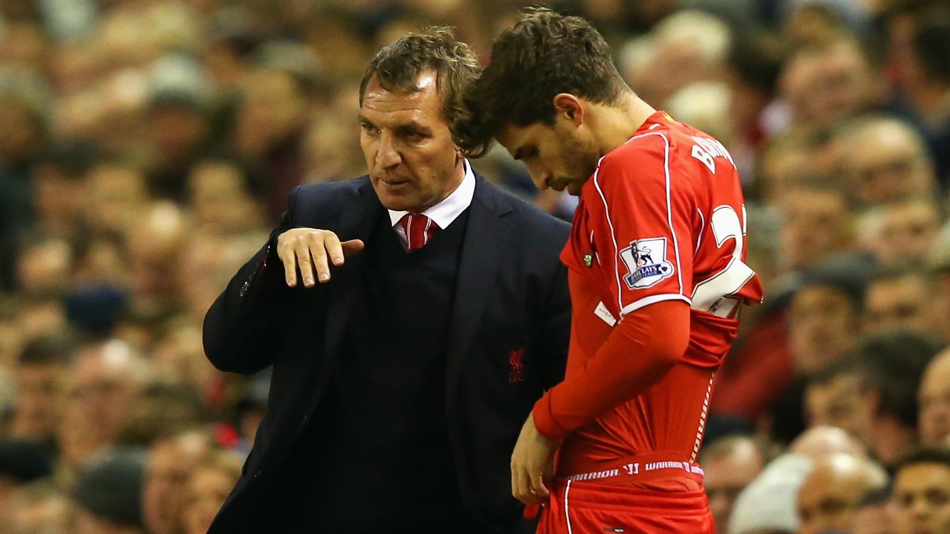 Brendan Rodgers Fabio Borini Liverpool