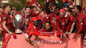 Liverpool Champions League parade
