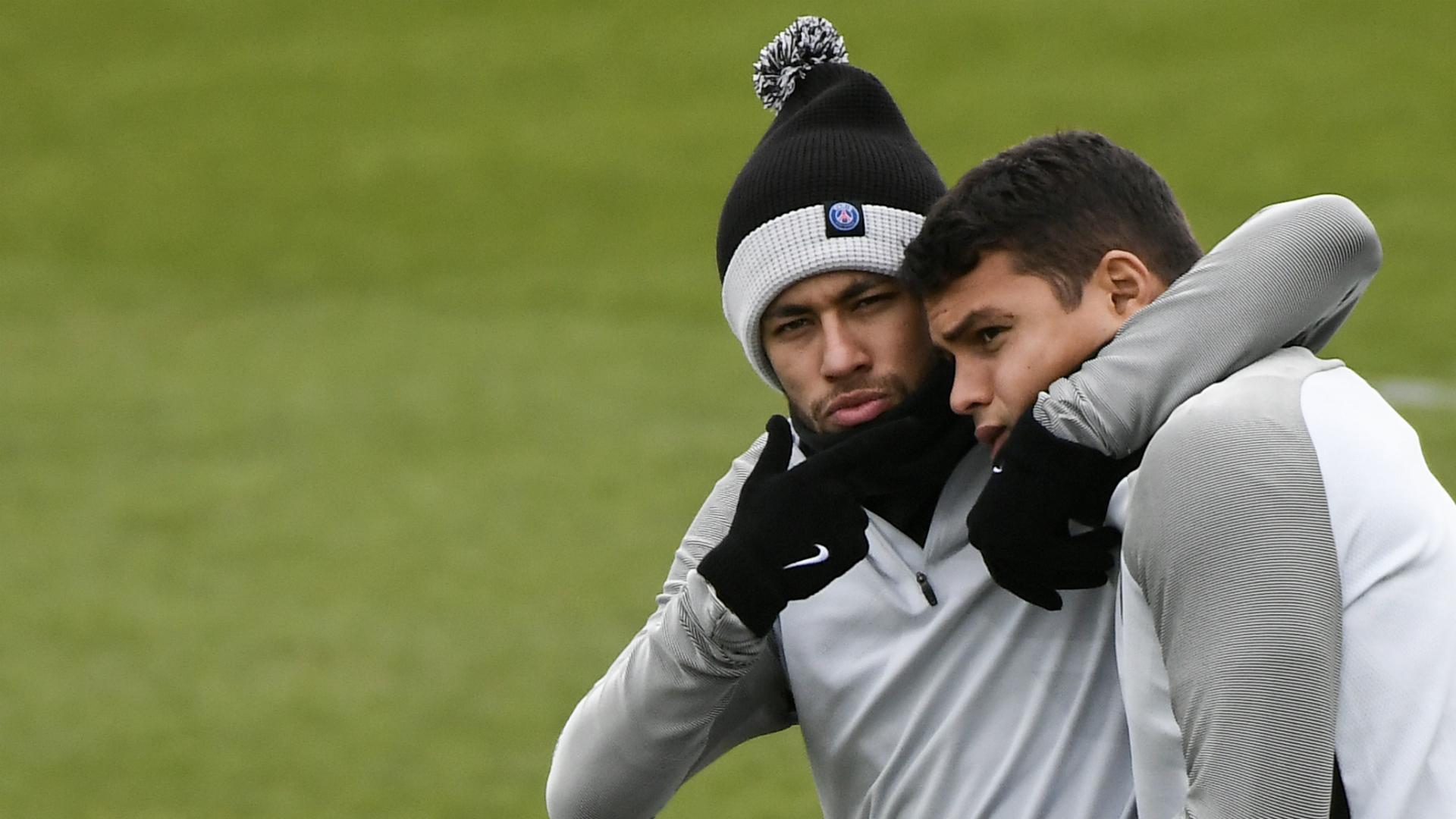 Neymar Thiago Silva PSG