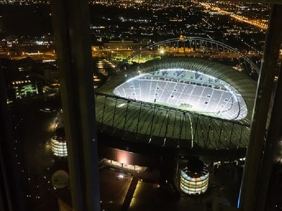Khalifa Stadium Birds eye