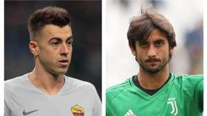 El Shaarawy Perin -Roma Juventus