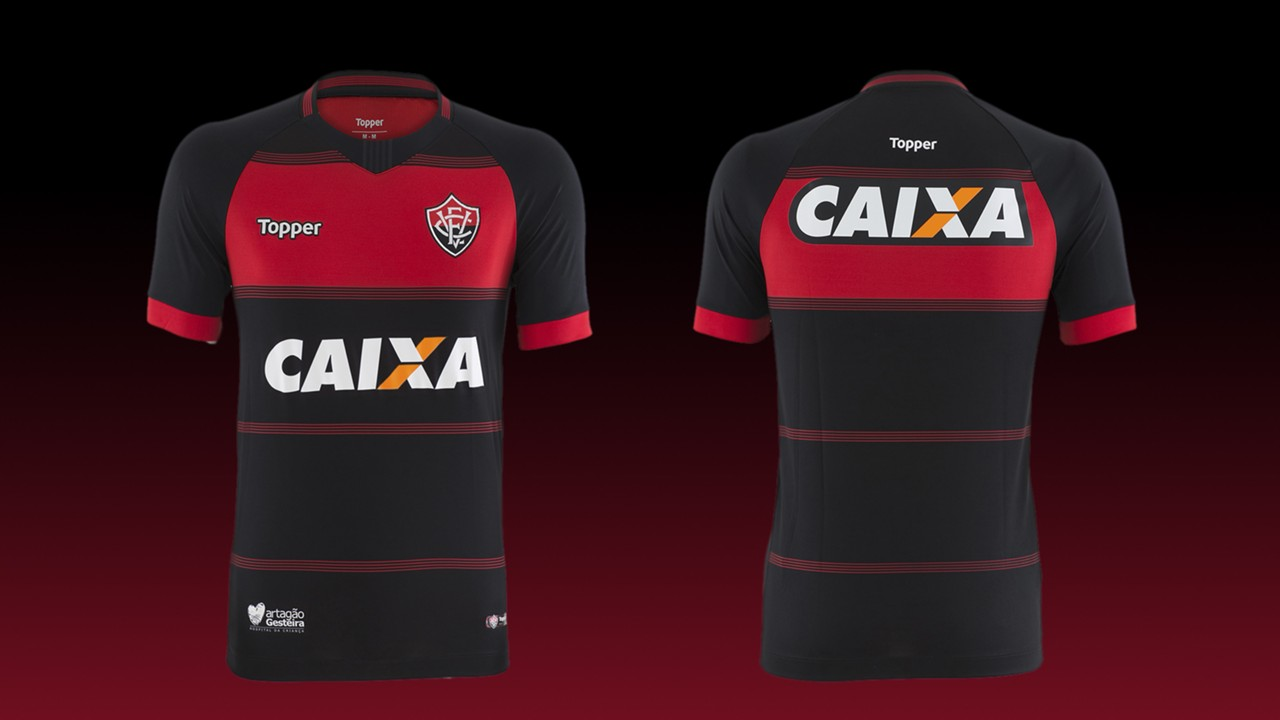 Vitoria camisa 1 2018 b33af19c655