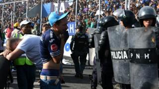 Motagua Progreso Honduras stampede