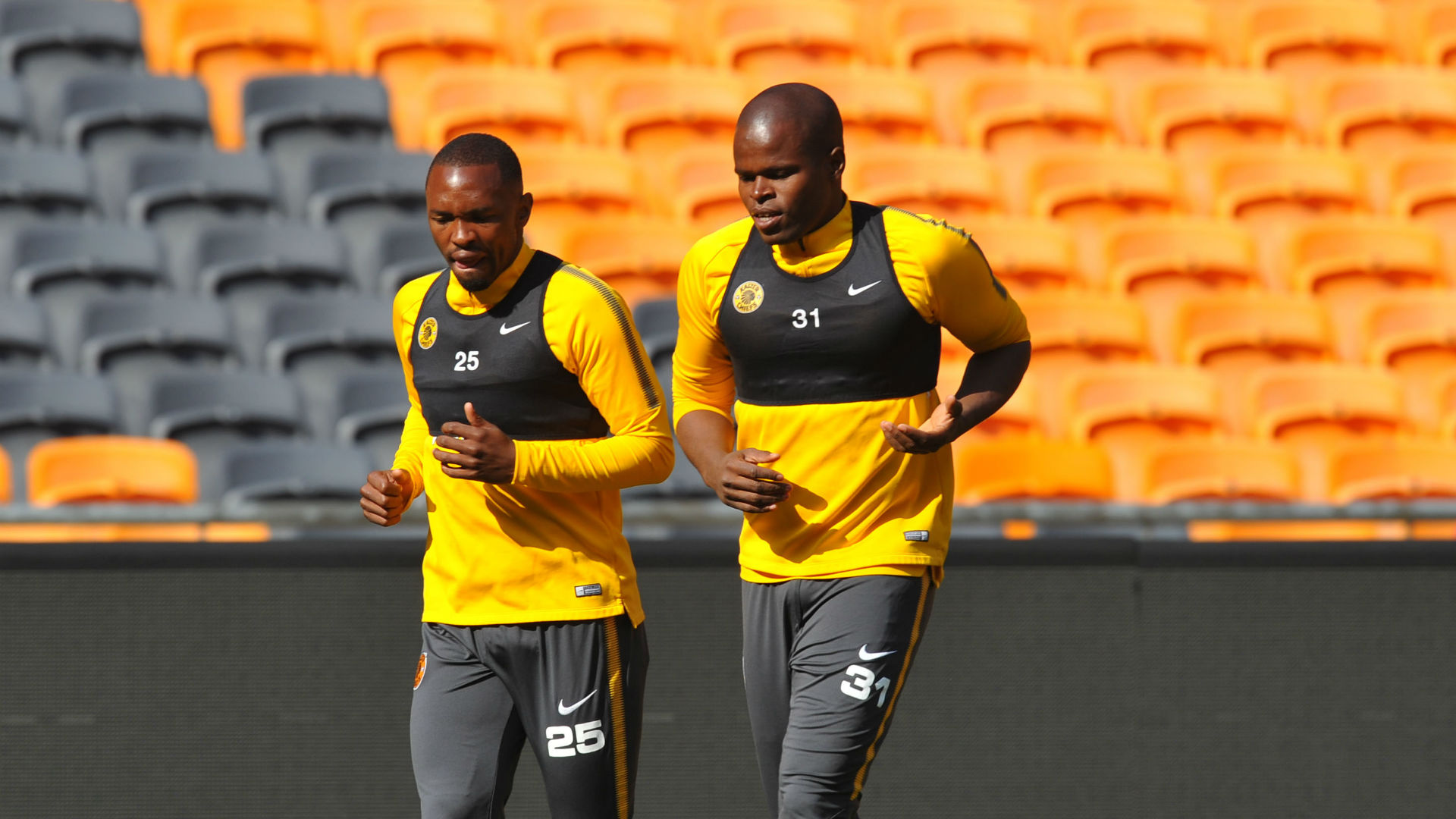 Willard Katsande and Bernard Parker, Kaizer Chiefs