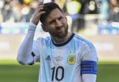 Lionel Messi após expulsão contra o Chile
