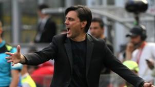 Vincenzo Montella Milan Serie A 2016-17