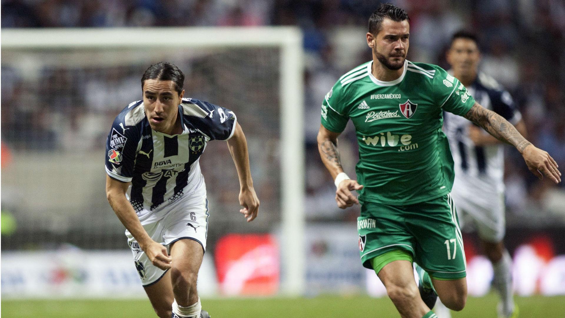 Efrain Juarez Milton Caraglio Monterrey Atlas Liga MX