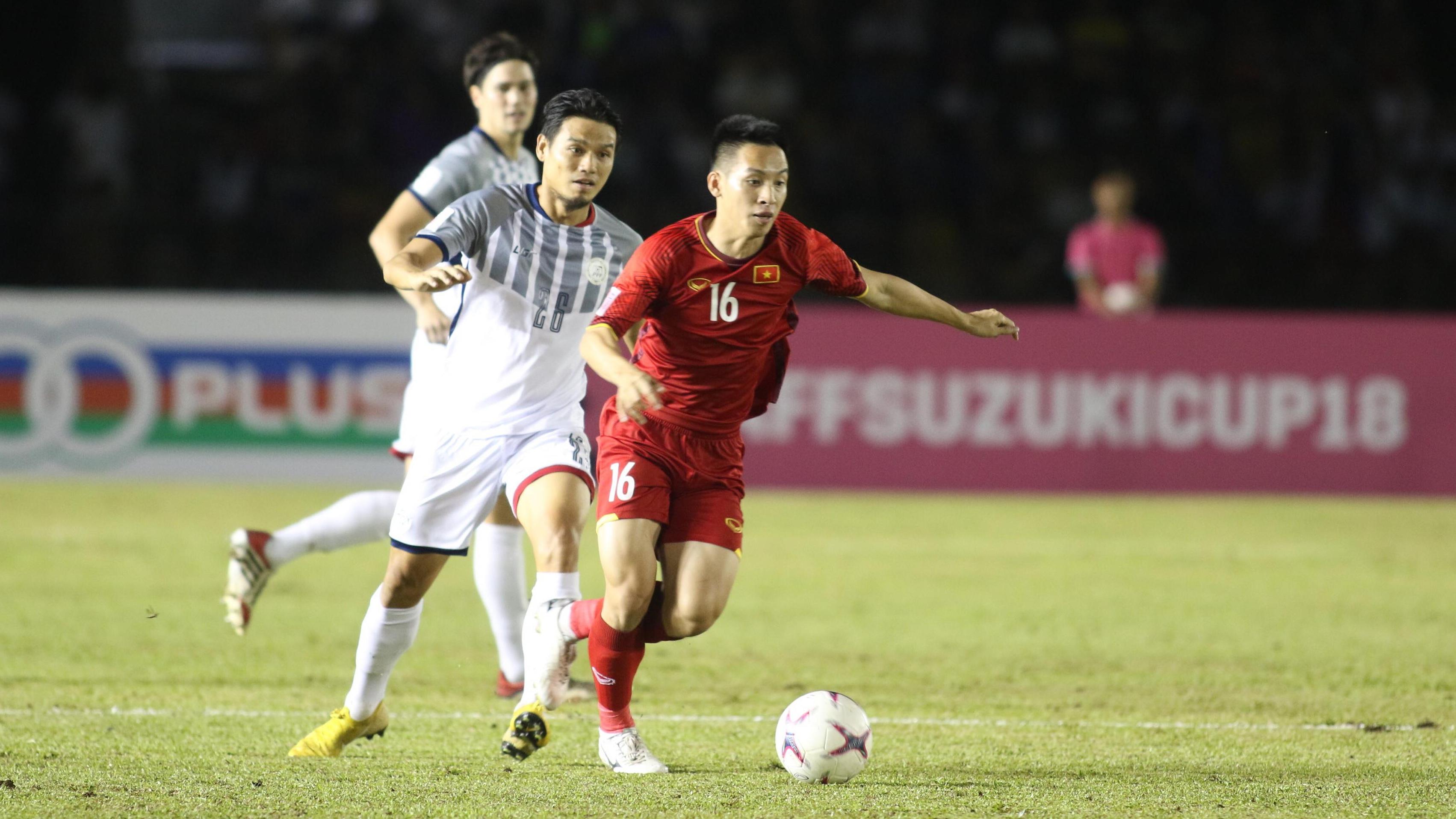 Đỗ Hùng Dũng Philippines vs Việt Nam AFF Suzuki Cup 2018