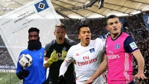 GFX Hamburger SV Zeugnis German