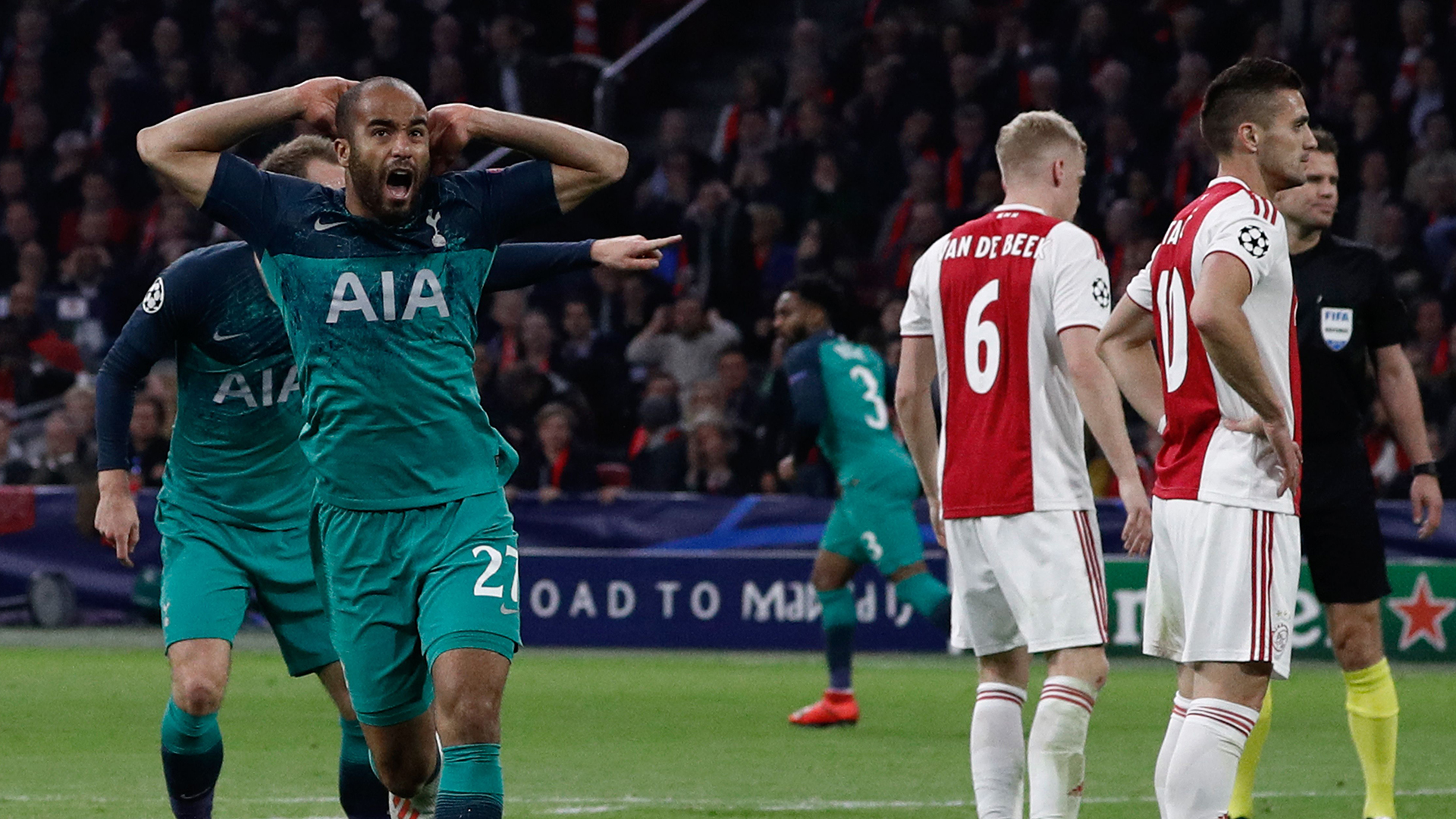 Beers, tears & disbelief: Spurs destroy Ajax's 'destiny' in Champions League classic