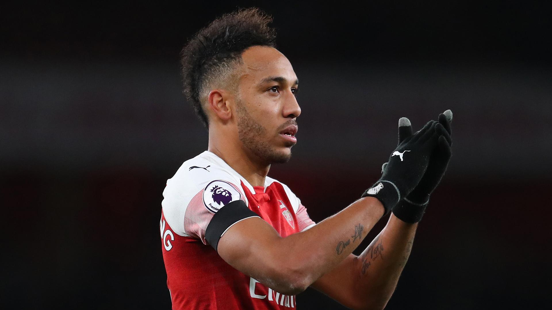 Pierre-Emerick Aubameyang Arsenal 2019