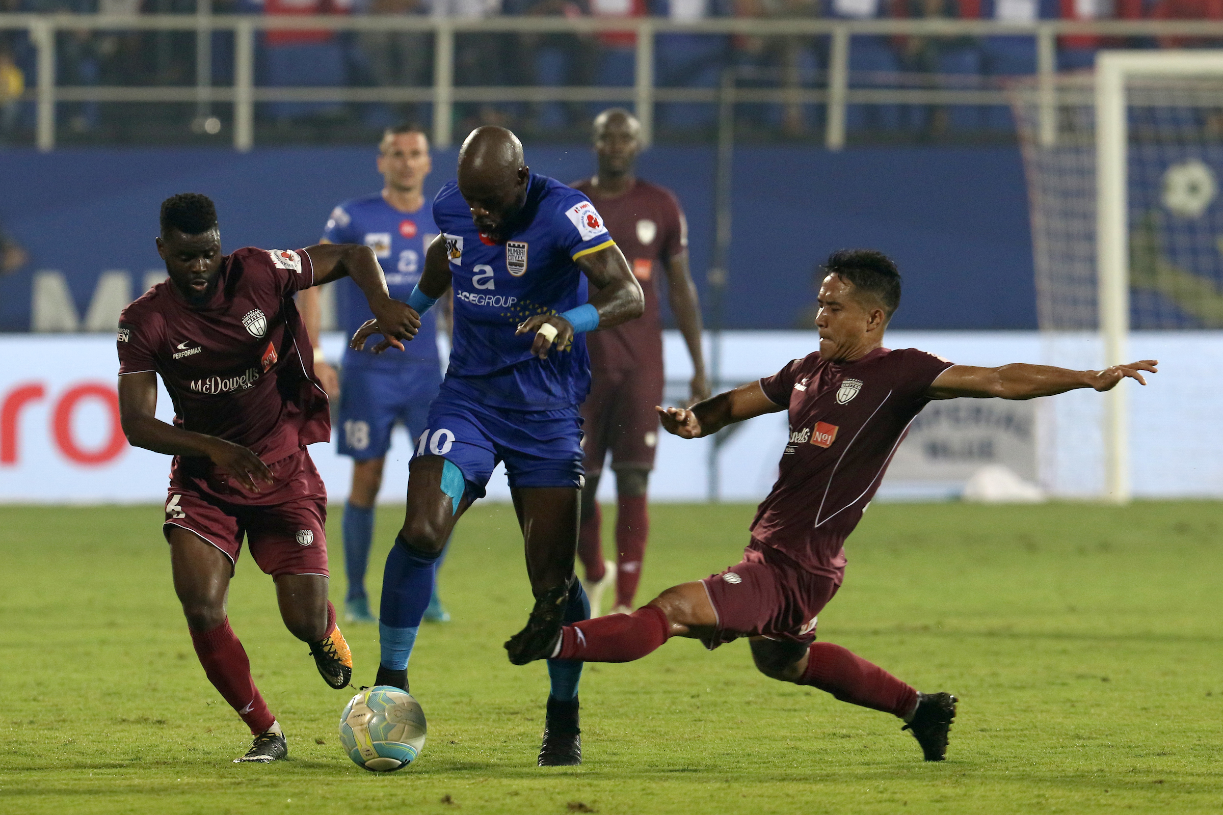 Achille Emana Mumbai City FC NorthEast United FC ISL