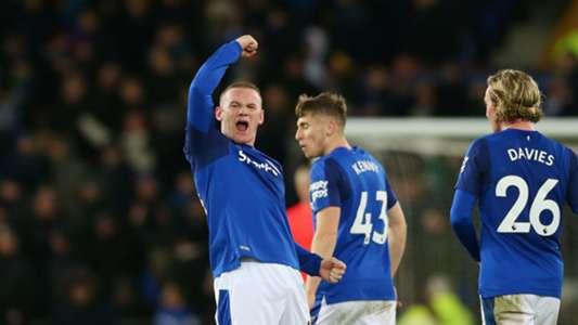 Wayne Rooney Everton West Ham Premier League