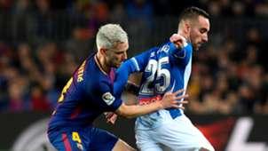 Ivan Rakitic Sergi Darder Barcelona Espanyol Copa del Rey 25012018