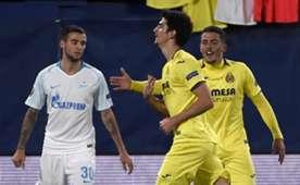 Gerard Moreno Villarreal Zenit Europa League