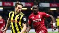 Kiko Femenia Sadio Mane Watford Liverpool 2018-19