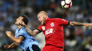 Taylor Reagan Sydney FC v Adelaide United A-League 20012017