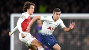 Matteo Guendouzi, Harry Winks, Arsenal vs Tottenham