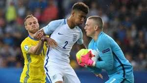 Gustav Engvall Mason Holgate Jordan Picford Sweden England Under 21