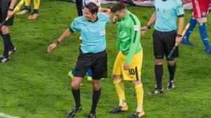 ONLY GERMANY Michael Zetterer Deniz Aytekin Werder Bremen Hamburger SV