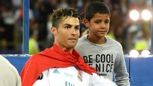 Ronaldo and Ronaldo Jr.