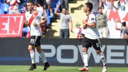 Rafael Borre Juan Fernando  Quintero River Sarmiento Copa Argentina 07102018