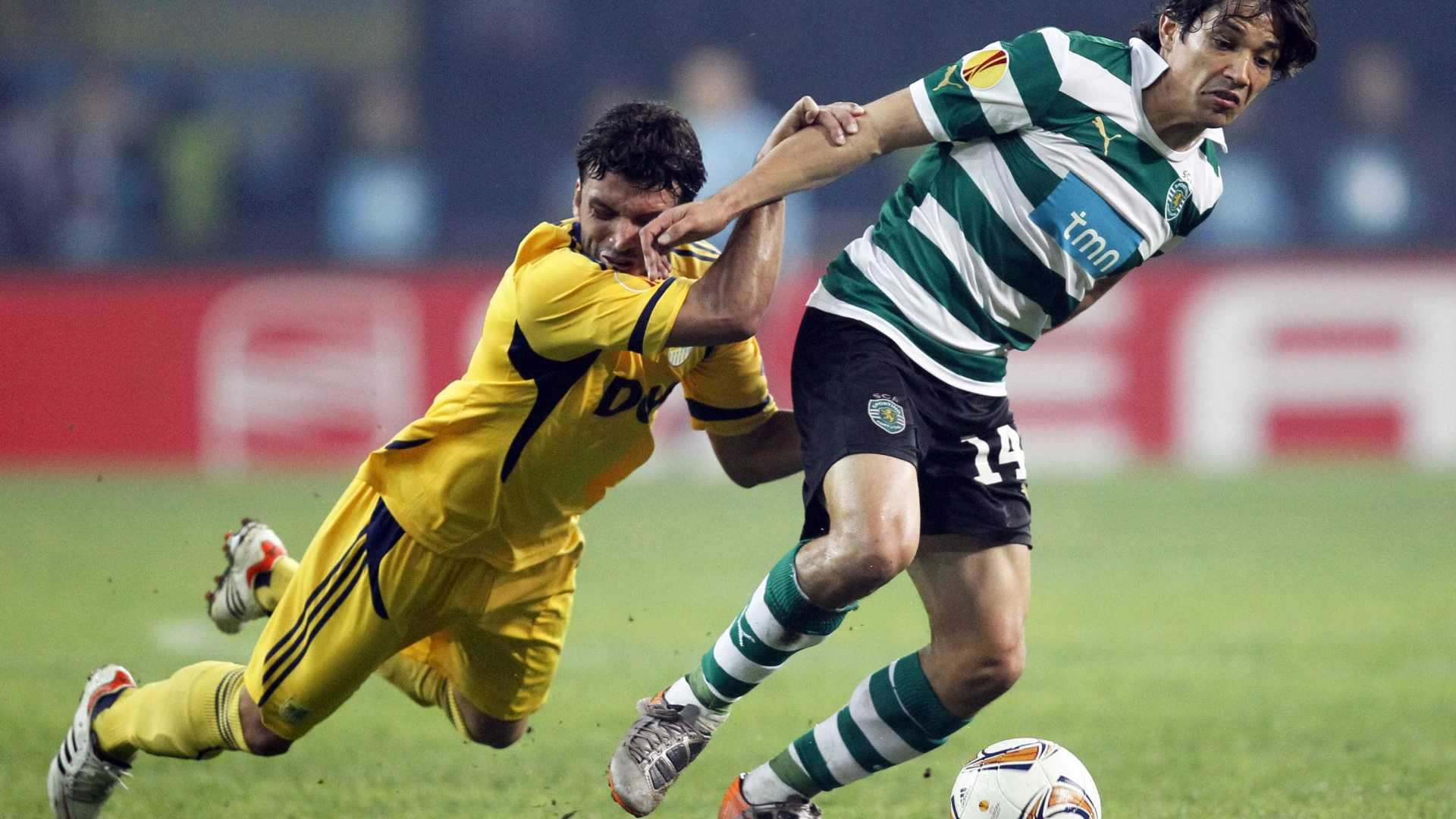 Matias Fernandez Sporting CP Champions League