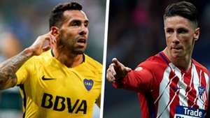 Carlos Tevez Fernando Torres Split