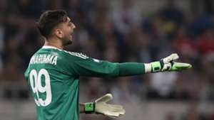 Gianluigi Donnarumma Juventus Milan Coppa Italia