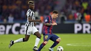Lionel Messi Paul Pogba Juve Barca 05062015