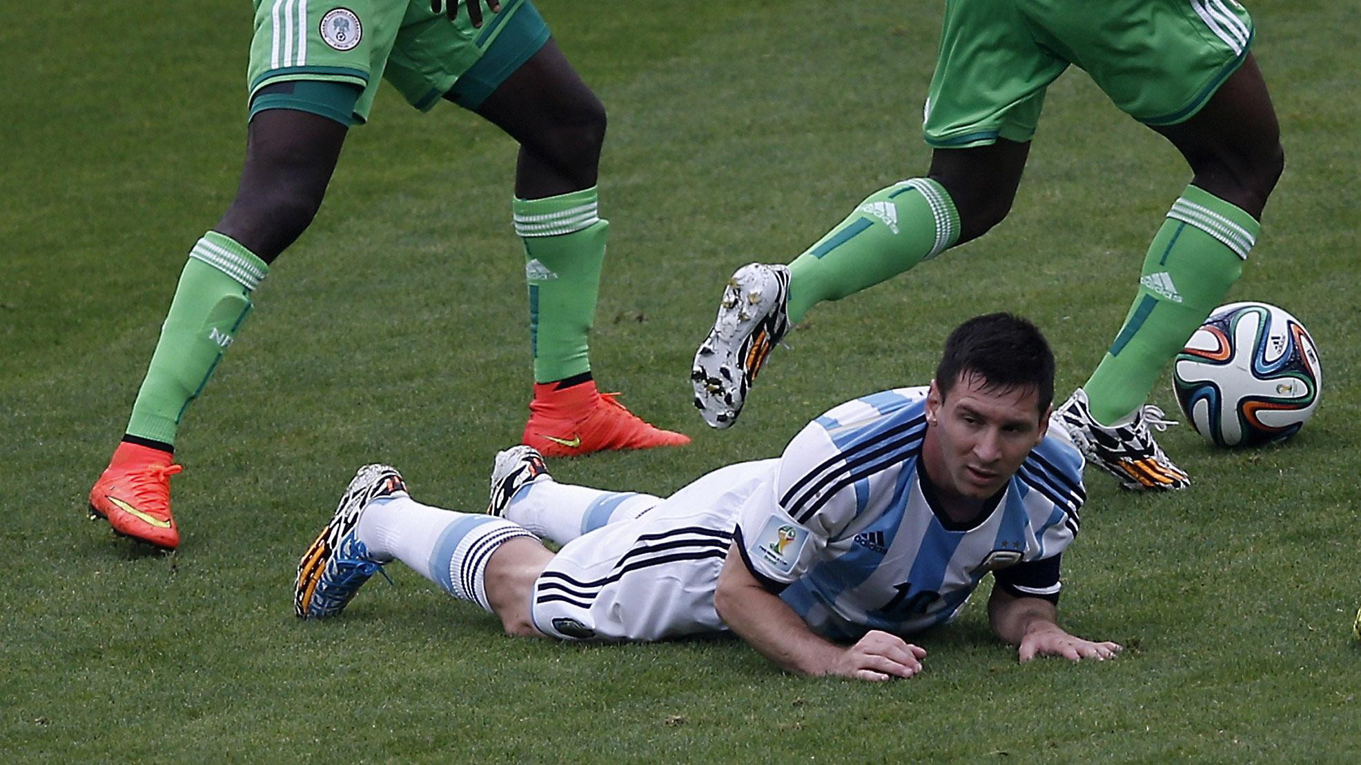 Messi Argentina Nigeria