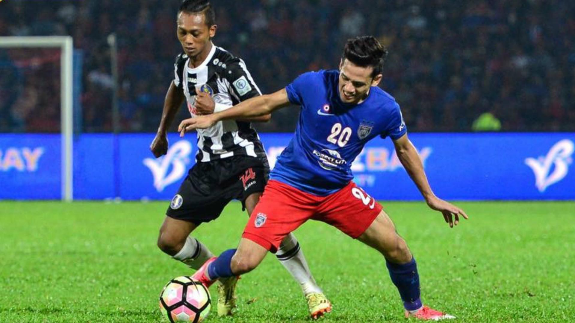 Azrif Nasrulhaq, Johor Darul Ta'zim, Faizal Rosli, Pahang, FA Cup, 23/04/2017