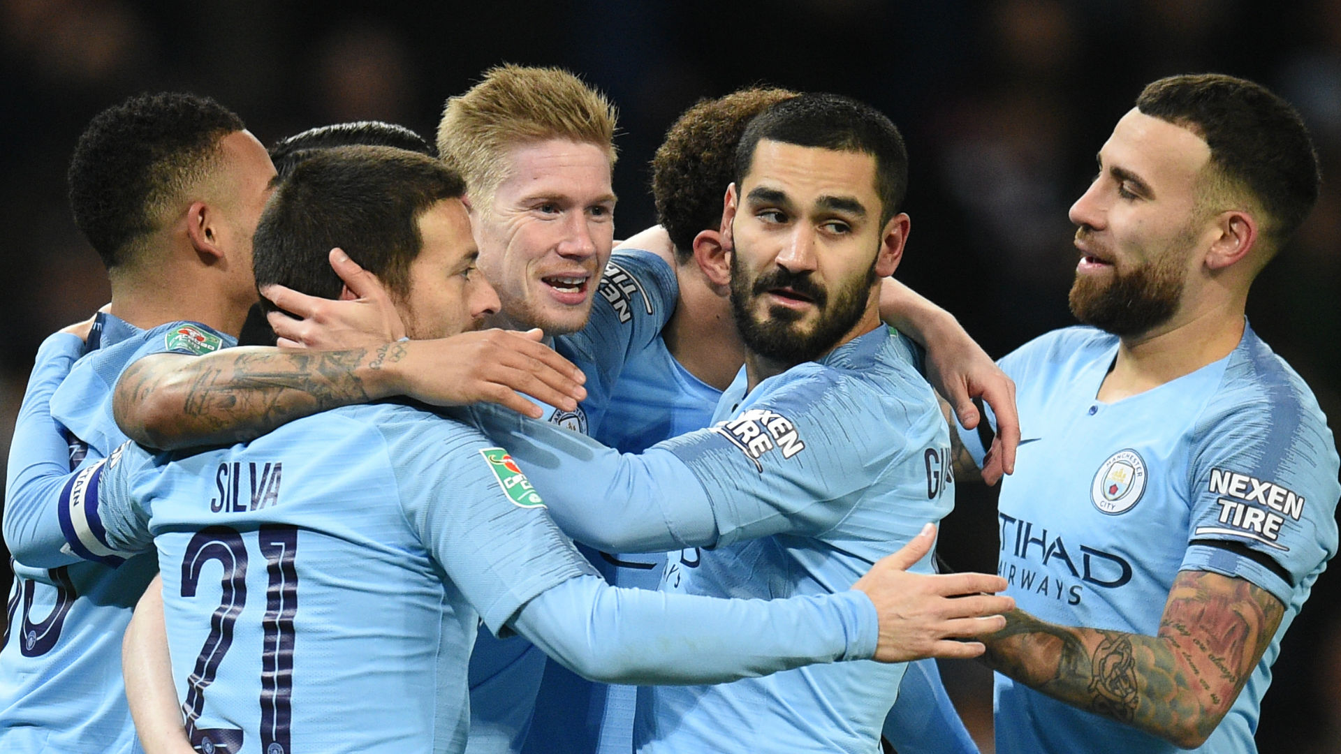 Manchester City écrase Burton Albion — League Cup
