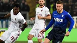 Milinkovic-Savic Lazio Milan Italian Cup
