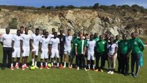 Super Eagles train in Corsica