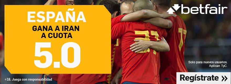 Betfair España Irán