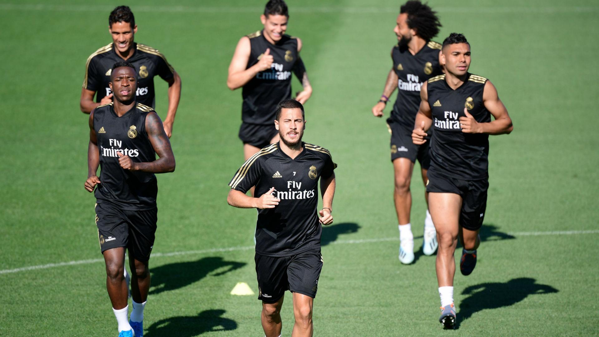 Real Madrid training