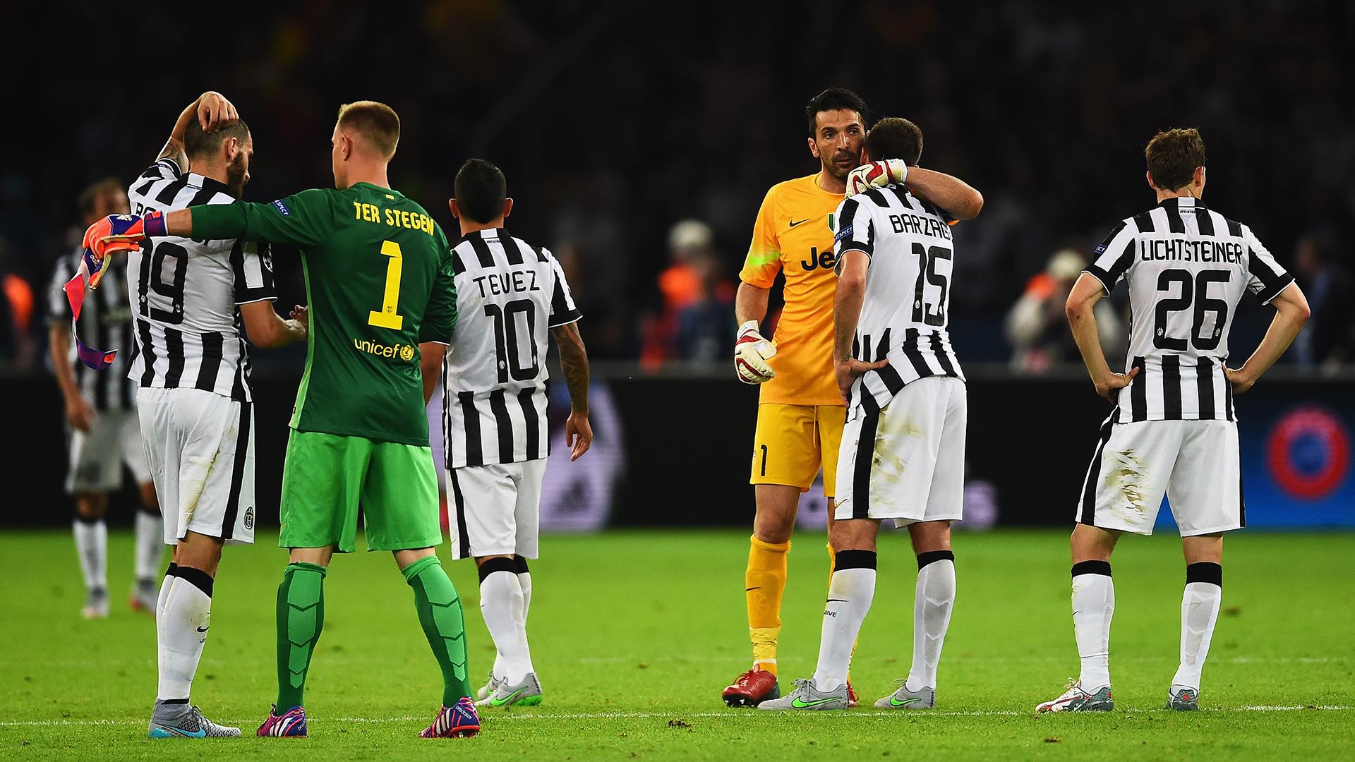 Gianluigi Buffon Juventus Barcelona 2015 Champions League final