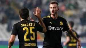 Sokratis Andriy Yarmolenko APOEL Borussia Dortmund Champions League 17102017