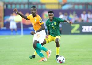 Max Gradel Ivory Coast Themba Zwane South Africa