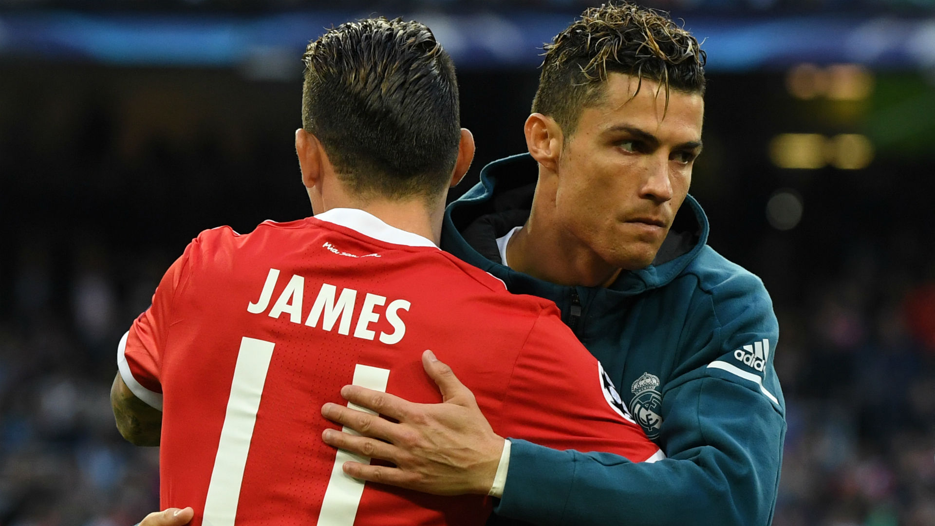 James Rodríguez - Cristiano Ronaldo Bayern - Real Madrid Champions League 2018