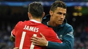 James Rodríguez - Cristiano Ronaldo Bayern - Real Madrid Champions League 2018