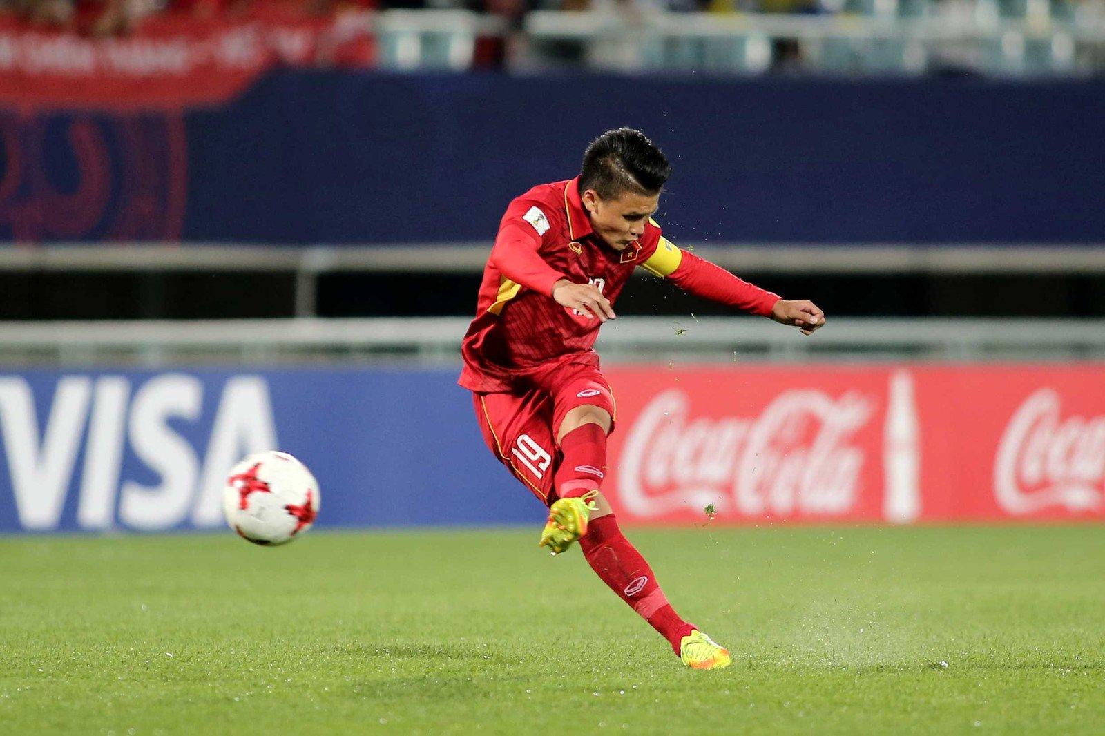 Quang Hai U20 Vietnam U20 World Cup 2017